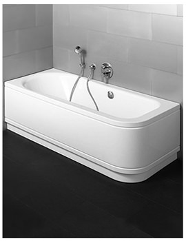Esprit Comfort Steel Bath Corner Installation 1700 x 750mm