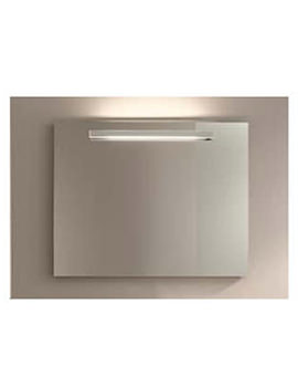 Related Duravit Mirror With Lighting 20/75 x 600mm Aluminium White - LM987003737