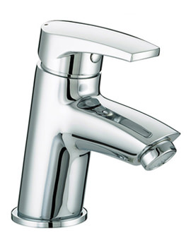 Orta Basin Mixer Tap With Clicker Waste - OR BAS C