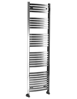 Related Phoenix Rochell Curved Chrome Pre-Filled Electric Towel Rail 500x1800mm