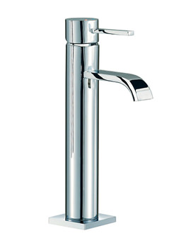 Wave Freestanding Basin Mixer Tap 296mm High - RDL029