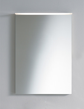 Related Duravit Delos Mirror With Fluorescent Lighting 600mm - DL734100000