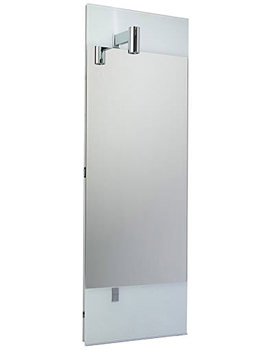 Related Ideal Standard Tonic Guest Mirror With Left Hand Light - N1065AA