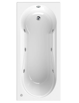Modena 1800 x 800mm 6 Jets Whirlpool Bath