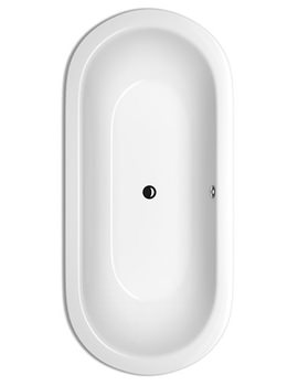 Starlet Oval Super Steel Bath 1850 x 850mm - BETTE2740