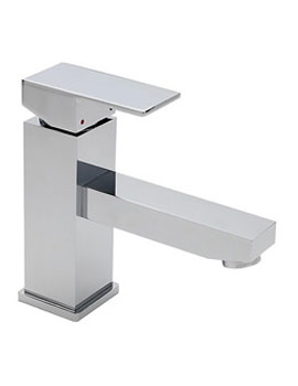 Edge Mono Basin Mixer Tap With Click Clack Waste - 22375