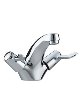 Lever Mono Basin Mixer Tap With Pop-Up Waste
