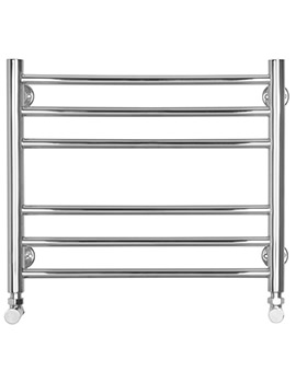 Baby Flat Electric Towel Radiator 520 x 440mm - SS300E