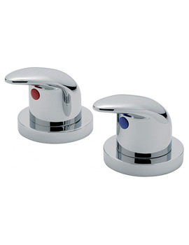 Novara 3-4 Inch Pair Of Side Valve Chrome - 65000