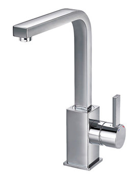 Str8 Swivel Spout Basin Mixer Tap With Clicker Waste