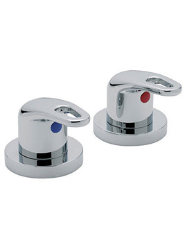 Latina 3-4 Inch Pair Of Side Valve Chrome - 25000