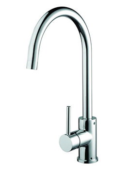 Pistachio Easyfit Kitchen Sink Mixer Tap Chrome