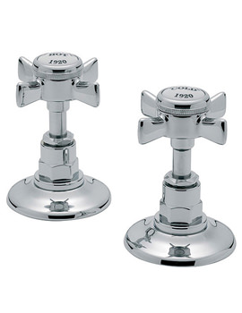 Imperial 1-2 Inch Pair Of Side Valve Chrome - 1070A