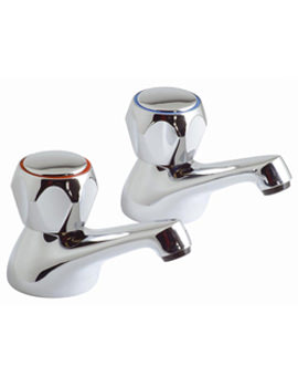 Astra Bath Pillar Taps - AST-136-CD-CP