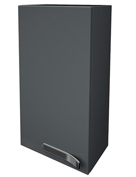 Ideal Standard Strada Left Hand 350mm Wall Storage Unit Gloss Grey