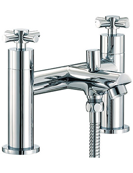 Prestige Bath Shower Mixer Tap With Shower Kit