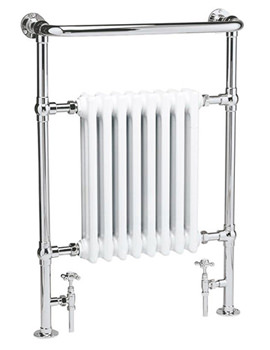 Hudson Reed Harrow 673 x 965mm Heated Towel Rail