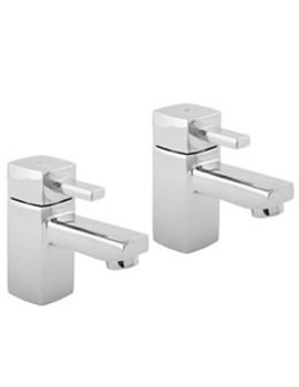 Rubic Bath Taps Chrome - RUB102