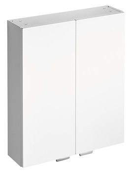 Ideal Standard Concept 600mm Wall Unit With Two Doors White