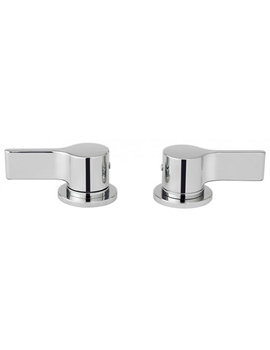 Crosswater Svelte Deck Mounted Panel Valves - Pair - SE350DC