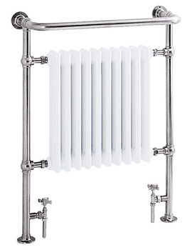 Clifton 734 x 940mm Heated Towel Rail