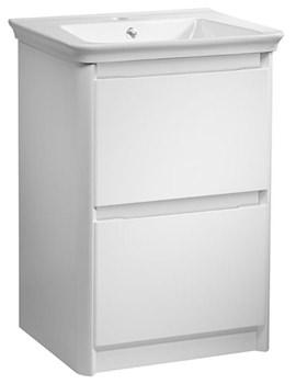 Equate 600mm White Freestanding Unit And Ceramic Basin