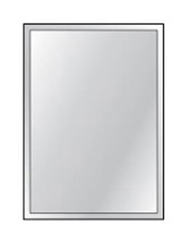 HIB Bevelled Mirror 4mm Float Glass 250 x 350mm 3 Piece Set
