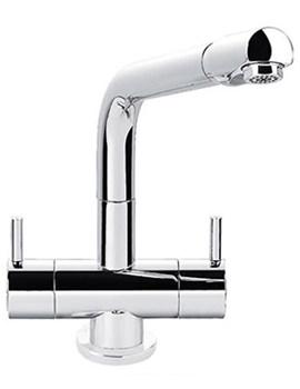 Aquadisc 1 Monobloc Kitchen Sink Mixer Tap Chrome