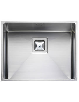 Atlantic Kube 1.0 Bowl Undermount Kitchen Sink 530 x 430mm