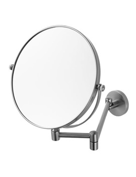 Haceka Pro 2500 Shaving Mirror Brushed Nickel - 1138408