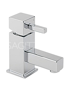 Related Sagittarius Pablo Cloakroom Basin Mixer Tap With Sprung Waste