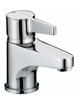Design Utility Lever Basin Mixer Tap With Clicker Waste