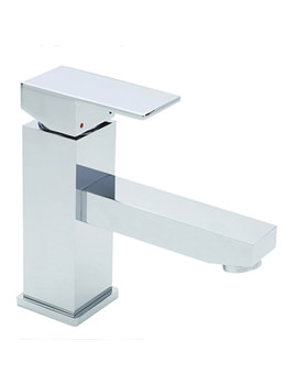 Edge Mono Basin Mixer Tap With Pop Up Waste Chrome - 22370