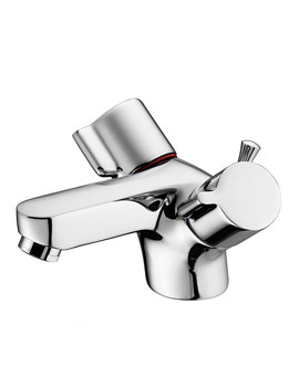 Alto Dual Control 1 Hole Basin Mixer Tap With Waste