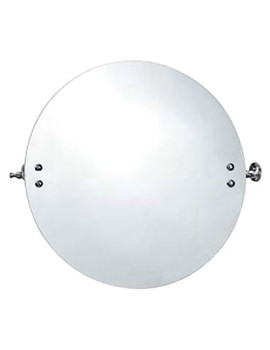 Triton Metlex Majestic Round Swivel Mirror And Bracket - AMJ727C