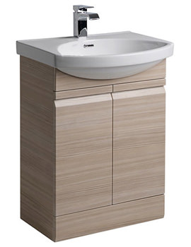 Profile Pale 600mm Freestanding Unit Including Basin