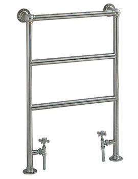 Portland Cloakroom Heated Towel Rail - AHC79