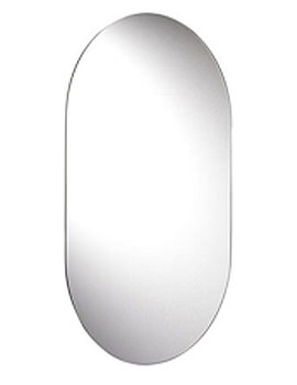 Harrop Rounded Rectangle Mirror 650mm x 400mm - MM701300
