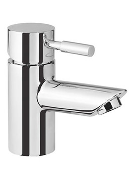 Kinetic Mini Basin Mixer Tap Without Pop Up Waste - TKN62