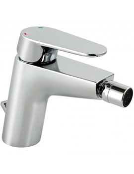 Ascent Mono Bidet Mixer Tap With Pop Up Waste Chrome