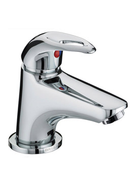 Java Mini Basin Mixer Tap With Clicker Waste - J MBAS C