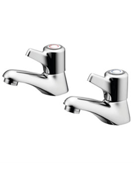 Elements Bath Pillar Taps With Lever Handles
