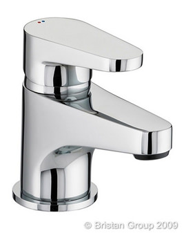 Quest Basin Mixer Tap With Clicker Waste - QST BAS C
