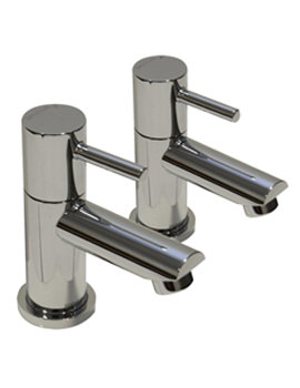 Blitz Chrome Plated Bath Taps - BTZ 3-4 C