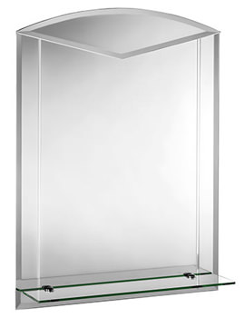 Langdale Arch Mirror With Shelf 600 X 800mm - MM700600