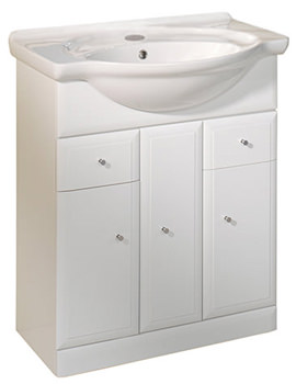 Valencia 700mm Freestanding Unit Including Basin - VB700W