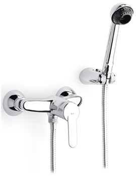 V2 Wall Mounted Shower Mixer With Kit - 5A2025C00