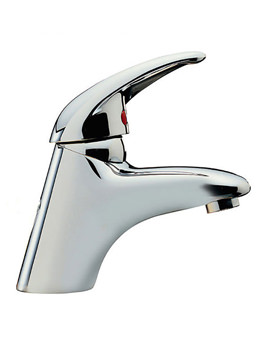 Latina Mono Basin Mixer Tap With Click Clack Waste - 25065