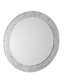 Meadley Circular Mirror With Mosaic Surround - MM700700
