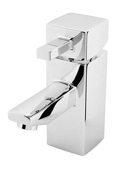 Beo Repine Chrome Single Lever Mono Basin Mixer Tap With Pop-Up Waste